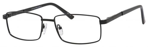 Dale Earnhardt, Jr Designer Eyeglasses 6806 in Satin Black 57mm Custom Lens