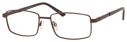 Dale Earnhardt, Jr Designer Eyeglasses 6806 in Satin Brown 57mm Custom Lens