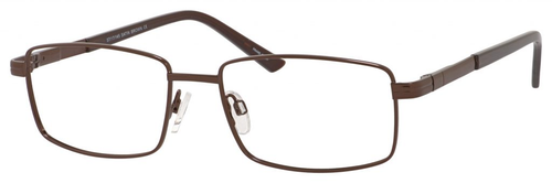 Dale Earnhardt, Jr Designer Eyeglasses 6806 in Satin Brown 57mm RX SV