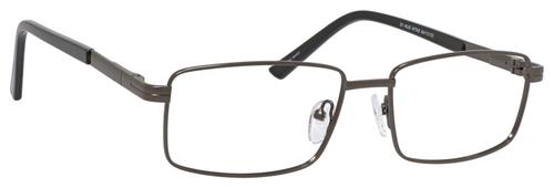 Dale Earnhardt, Jr Designer Eyeglasses 6806 in Satin Gunmetal 57mm Bi-Focal