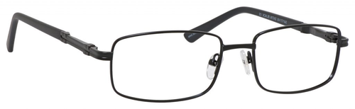 Dale Earnhardt, Jr Designer Eyeglasses 6813 in Satin Black 54mm Progressive