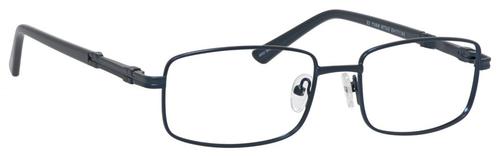 Dale Earnhardt, Jr Designer Eyeglasses 6813 in Satin Navy 54mm Custom Lens