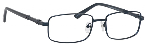 Dale Earnhardt, Jr Designer Eyeglasses 6813 in Satin Navy 54mm Bi-Focal