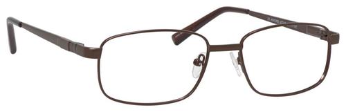 Dale Earnhardt, Jr Designer Eyeglasses 6814 in Satin Brown 54mm Custom Lens