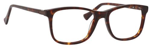 Esquire Designer Rectangular Frame Eyeglasses EQ1509 in Tortoise-54 mm