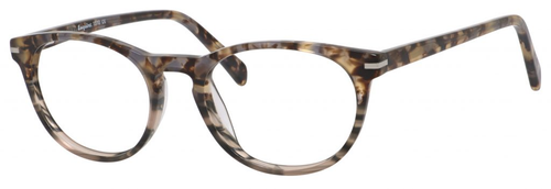 Esquire Designer Unisex Oval Frame Eyeglasses EQ1510 in Olive Amber-50 mmCustom Lens
