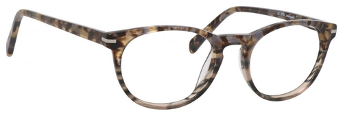 Esquire Designer Unisex Oval Frame Eyeglasses EQ1510 in Olive Amber-50 mm