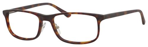 Esquire EQ1531 Mens Rectangular Frame Eyeglasses Tortoise 55 mm