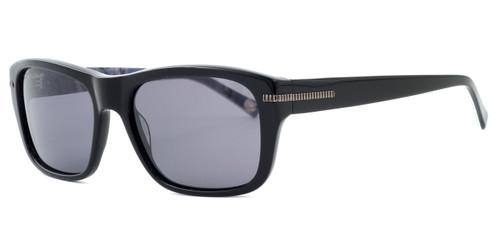 864e2e2a421 Tommy Bahama TB6047 Designer Polarized Sunglasses in Black with Grey Lenses
