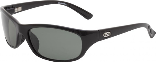 Ono's™™ Polarized Sunglasses: Carabelle in Black & Grey