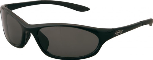 Ono's™™ Polarized Sunglasses: Grand Lagoon in Black & Grey