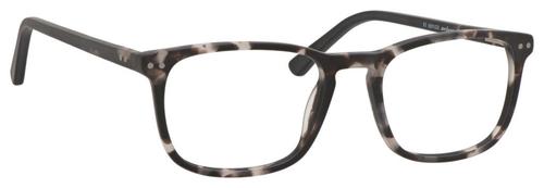 Esquire Unisex EQ1556 Oval Reading Eyeglasses in Black Grey Marble 51 mm