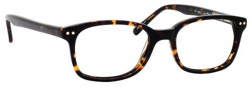 Ernest Hemingway H4602 Unisex Oval Frame Reading Eyeglasses in Tortoise 50 mm