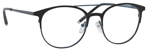 Ernest Hemingway Blue Light Filter A/R Lenses Reading Glasses Satin Black/Navy 52mm H4810