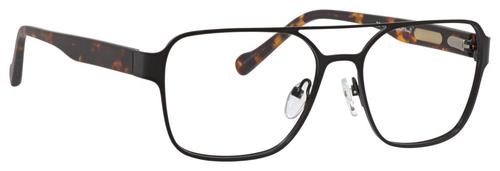 Ernest Hemingway Blue Light Filter A/R Lenses H4814 Reading Glasses Black 53mm
