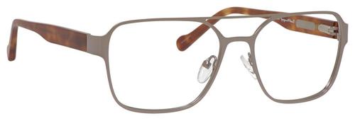 Ernest Hemingway Blue Light Filter A/R Lenses H4814 Reading Glasses Matte Gunmetal 53mm