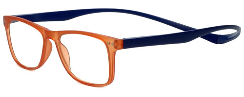Magz Astoria Magnetic Bi-Focal Eyeglasses in Orange Blue