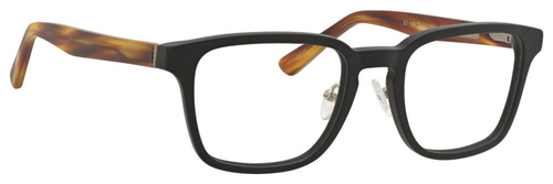 Ernest Hemingway Blue Light Filter& A/R Lenses H4827 Reading Glasses Black/Amber 51 mm
