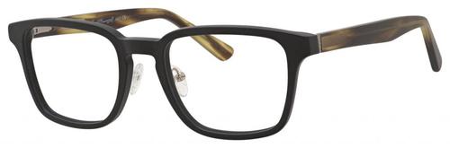Ernest Hemingway Blue Light Filter&A/R Lenses H4827 Reading Glasses Black/Olive 51 mm