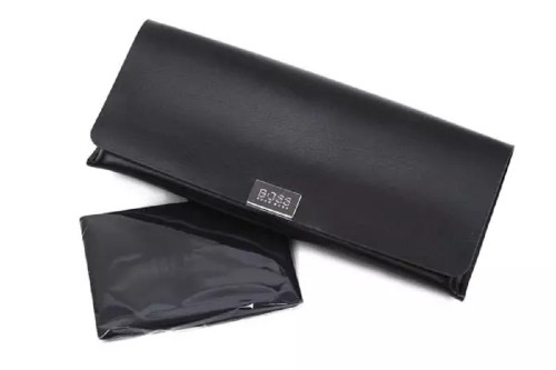 Hugo Boss Men 0833/S Rectangular Sunglasses Gray Carbon Red/smoke Polarized 60mm