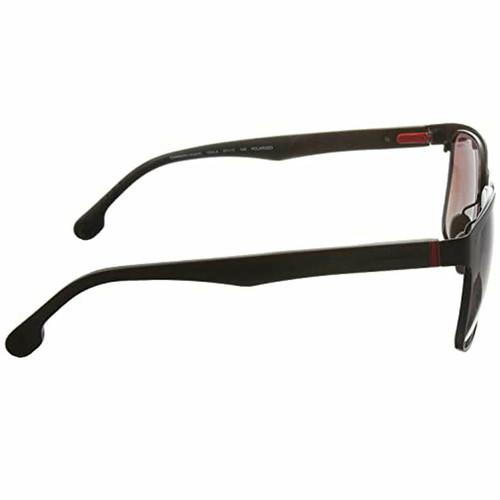 Carrera CA8026/S Polarized Sunglasses Unisex Square in Matte Brown Gradient 57mm