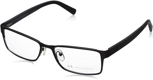 ARMANI EXCHANGE Designer Reading Eye Glasses in Black AX1003-6014-52mm Custom Lens