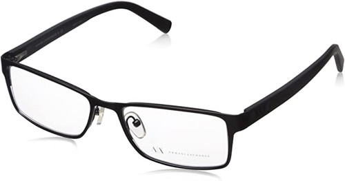 ARMANI EXCHANGE Designer Reading Eye Glasses in Black AX1003-6014-52mm RX SV