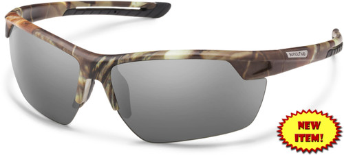 5bdde0a036 Suncloud Contender Polarized Sunglasses in Matte Camo   Grey Lens