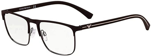 EMPORIA ARMANI Designer Reading Eye Glasses in Brown EA1079-3132-55 mm