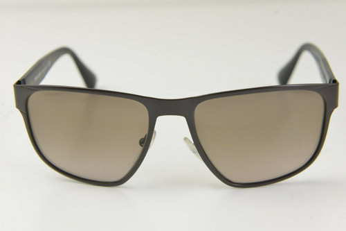 PRADA PR 55SS LAH-1X1-55mm Sunglasses Matte Havana Tortoise Brown Gradient Amber