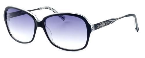 Harley-Davidson Designer Sunglasses HDX831-BLK in Black Frame & Grey Gradient Lens
