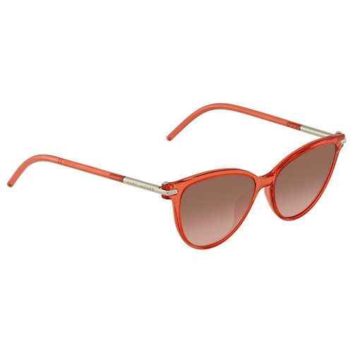 Marc Jacobs Designer Sunglasses MARC47S-T0T Red Coral/Brown Coral Gradient