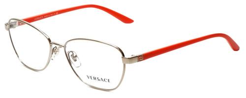 Versace Blue Light Blocking Reading Glasses 1221-1252-54 Pale Gold/Orange 54mm New