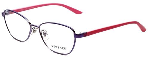 Versace Designer Progressive Blue Light Blocking Glasses 1221-1347-54 mm in Pink