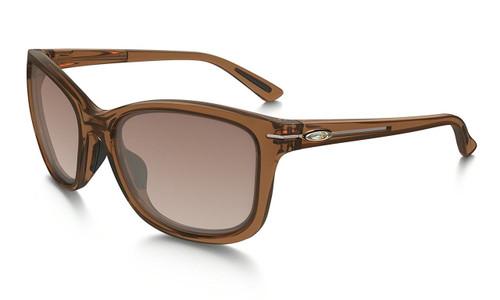 Oakley Designer Sunglasses Drop In in Topaz & VR50 Brown Gradient Lens (OO9232-13)