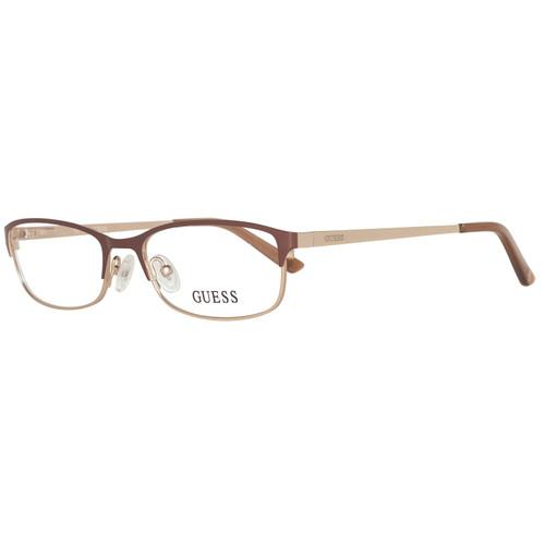 Guess Progressive Lens Blue Light Reading Glasses GU2544-045 in Brown Gold 52mm