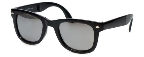 Calabria Folding Vintage Wayfarer Sunglasses