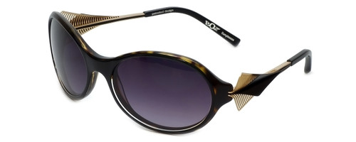 BOZ Designer Sunglasses New Day 0095 in Tortoise Frame & Grey Gradient Lens 60mm