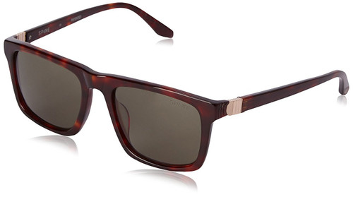 Spine Optics Designer Sunglasses SP3004-104 in Tortoise with Grey Tint 53mm