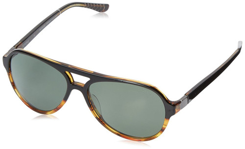 Spine Optics Designer Sunglasses SP7002-081 in Brown Gradient with Polarized Grey Tint 59mm
