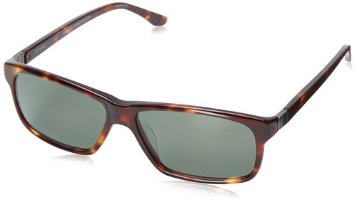 Spine Optics Designer Sunglasses SP7003-104 in Tortoise with Polarized Grey Tint 61mm