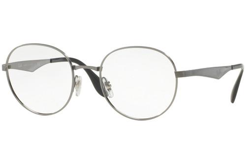 Ray Ban Progressive Lens Blue Light Reading Glasses RX6343-2553-47 mm Gunmetal