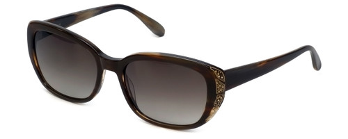 fd2550fe0aa Vera Wang Designer Sunglasses Nevela in Arizona Tortoise Frame   Brown  Gradient Lens 55mm