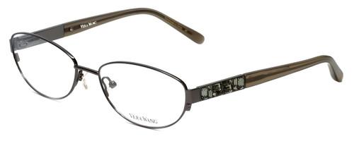 Vera Wang Designer Progressive Blue Light Glasses V079 Gunmetal 53mm 4 Powers