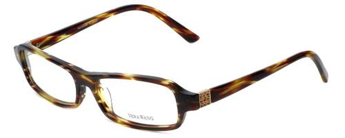 Vera Wang Designer Progressive Blue Light Glasses V147 Tortoise 52mm 4 Powers