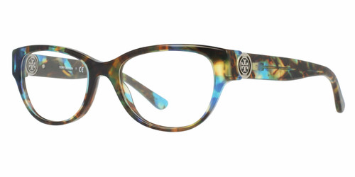 Tory Burch Progressive Len Blue Light Glasses Brown Tort VV-QA-TY2060-3145-50 mm