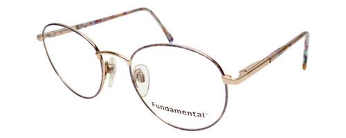 Calabria Designer Round Blue Light Filter Reading Glasses Fundamental Lavender 52mm