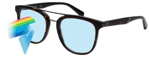 Blue Light Blocking Glasses Functionality Illustration