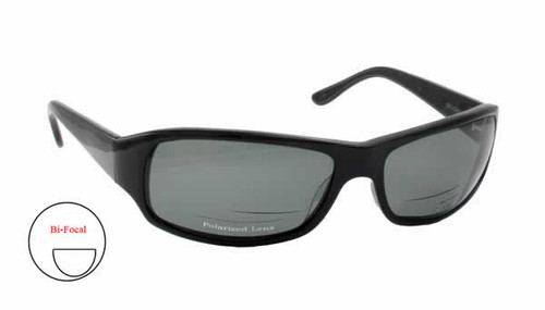 Scojo Tropic Polarized Bi-Focal Sunglasses in Black