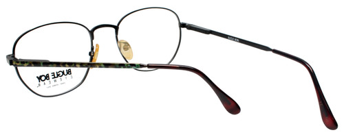 Bugle Boy Designer Eyeglasses in Green Tortoise Havana Gold 48mm Custom L&R Lens